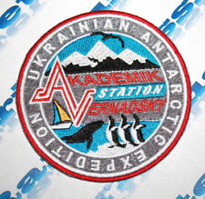 PATCH UKRAINIAN ANTARCTIC EXPEDITION STATION AKADEMIK VERNADSKY (2)