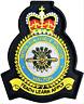 RAF Halton Royal Air Force MOD Crest Embroidered Patch