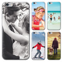 PERSONALISED CUSTOM PHOTO PHONE CASE FOR IPHONE SAMSUNG HUAWEI HARD/GEL COVER