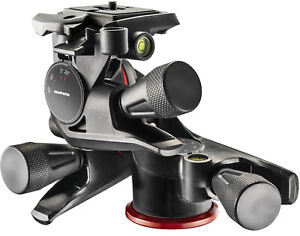 Manfrotto XPRO Geared Three-Way Pan/Tilt Quick Release Tripod Head