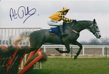 Andrew Thornton Hand Signed 12X8 Photo Horse Racing.