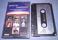 V/A HIGH ON EMOTION PAPER LABELS cassette tape album