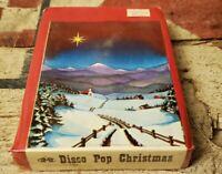 Disco Pop Christmas 8-Track Tape Winter Wonderland - Silver Bells - Let it Snow