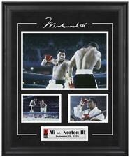 Muhammad Ali Framed 3-Photo vs. Ken Norton Collage - Fanatics