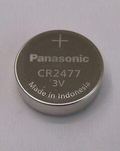 CR2477 Panasonic Knopfzelle 3V Batterie 2477 Bulk