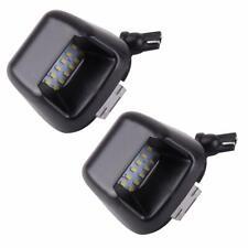 For Nissan Navara D40 Lamp Bulb LED Rear Bumper 2X License Number Plate Light