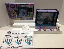 LITTLEST PET SHOP DESIGN YOUR WAY SAY AHH TO THE SPA STYLE SET & 3 PETS IN BOX