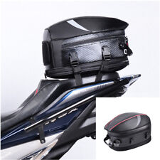 PVC Fabric Motorcycle Tail Bags Travel Bag Motorbike Scooter Sport Luggage PU