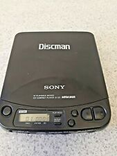 More details for sony discman d-121 cd player working