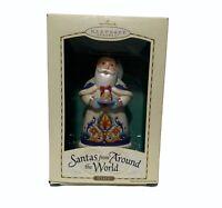 2004 Hallmark Keepsake Ornament Santas From Around the World Italy