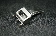 REPLACEMENT NEW 18MM SILVER STAINLESS STEEL DEPLOYMENT/CLASP FOR IWC WATCHES