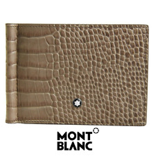 Montblanc Meisterstück Selection MB 114446 Taupe Leather Men's Wallet