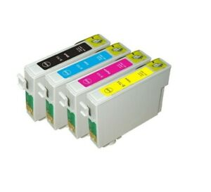 Lot Of Cartridges Compatible 0711,0712,0714,0715 For Epson Series T With 48h