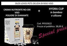 OLOS DELIZIA DI RISO CREMA VISO NUTRIENTE 50ml +TAZZA LOVES PETS limited edition