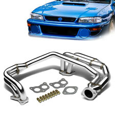 Fit 1998-2003 Subaru Impreza RS 2.5L Stainless Header Exhaust Manifold Pipe
