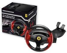 Thrustmaster Red Legend Ferrari Racing Wheel 2 pedals Video Games PS3 PC 4060052