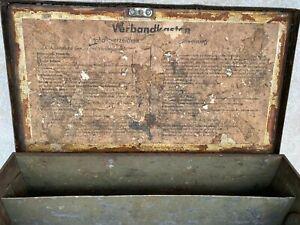 Verbandskasten Wehrmacht  Kiste Blech