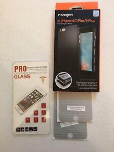 Spigen Iphone 6S Plus 6 Plus Case and Screen Protector