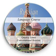 Learn Russian FAST - Spoken Language Course 4.5 Hr Audio MP3 +4 Books PDF DVD 10