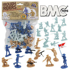 BMC The Rough Riders Charge Up San Juan Hill - 32pc Soldier Figures 1:32 54mm