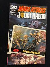 Mars Attacks - Judge Dredd # 3 - Sub Cover - IDW