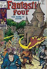 "*MARVEL (1969) FANTASTIC FOUR #84 - ""The Name is -- Doom!""  -- 6.5 FN+"