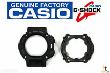 CASIO G-Shock GW-9000 Black Rubber Watch Bezel (Top/Bottom) GW-9000A GW-9000Y