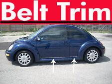 VW BEETLE Volkswagen CHROME SIDE BELT TRIM DOOR MOLDING 99 00 01 02 03-10