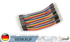 40Pin 10cm Jumper Kabel, Verbindungskabel männlich m-m für Arduino Raspberry Pi