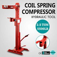 2.5Ton Coil Spring Compressor Auto Tool Hydraulic Tool Foot Pedal Quick Red New