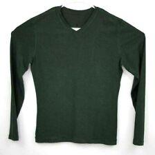 Lululemon Mens Athletic T Shirt Green Long Sleeve Sz M EUC