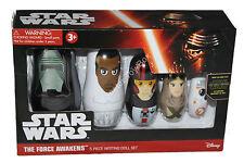 The Force Awakens Nesting Dolls Disney Star Wars Kylo Finn Rey Poe BB-8