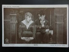 Charlie Chaplin SPOONS Red Letter Photocard c1915