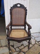 Fauteuil de bureau renaissance Epoque Napoléon III