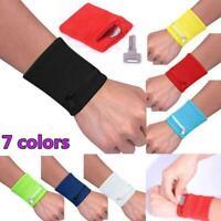 Wrist Wallet Pouch Band Zipper Running Travel Cycling Safe Bag Sports
