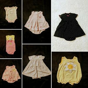 Baby Girl Size 0/3 Months Summer Clothing Lot