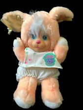 Magic Nursery Puppy Peach Dog Plush Toy Mattel 1990 Vintage Toy Clothing Pet