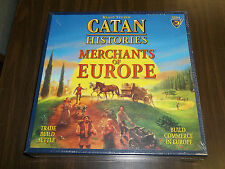 CATAN HISTORIES Merchants of Europe Game!!  Brand New + Sealed!!