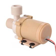 Solar 12V DC Hot Water Circulation Pump Brushless Motor Water Pump 3M 100°C TE89