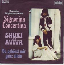 """7"" - SHUKI & AVIVA - Signorina Concertina"