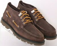 Sperry Top-Sider STS10087 Lug Brown Moc Toe Lace-Up Chukka Boots Men's US 8.5M