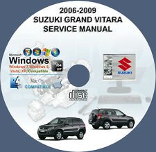 SUZUKI GRAND VITARA 2006 2007 2008 2009 Workshop ServiceRepair Manual