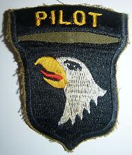 PILOT - PATCH - 101st AIRBORNE DIVISION - HUE, PHU BAI, DMZ - Vietnam War - 8659
