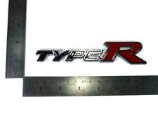 TYPE R BADGE LOGO DECALS PLATE FOR HONDA CIVIC JAZZ CITY ACCORD STICKER JDM
