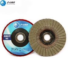 "4"" Flap Disc Electroplated Diamond Grinding Disc Flap Wheel Roloc Sanding Disc"