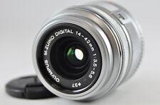 [VG] OLYMPUS M.Zuiko Digital 14-42mm F3.5-5.6 II R Lens Silver Micro 4/3