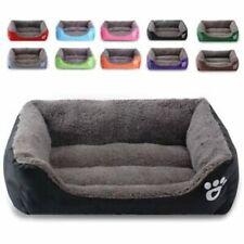 Large soft warm mat pet kennel dog mat cat bed washable candy color square nest