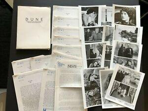 Dune (1984) - Original Movie Press Kit w/Photos & Press News Sheets