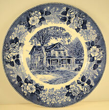 First Edition Staffordshire Plate from 1949 The Country Store Concord, Mass