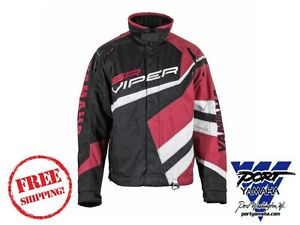 2015 Yamaha Men's Red Sr Viper Jacket SMB-15JVP-RD